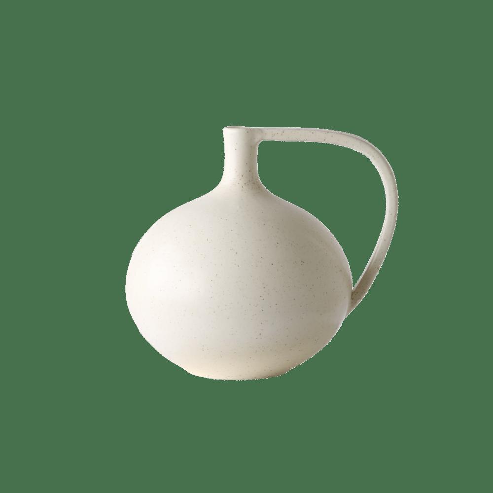 Image of Medium white vase