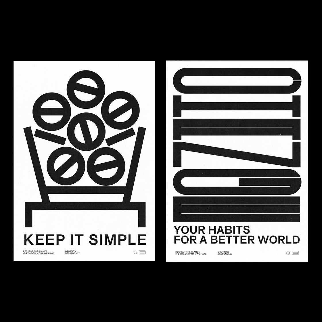 Image of KEEP IT SIMPLE 50x70cm Poster