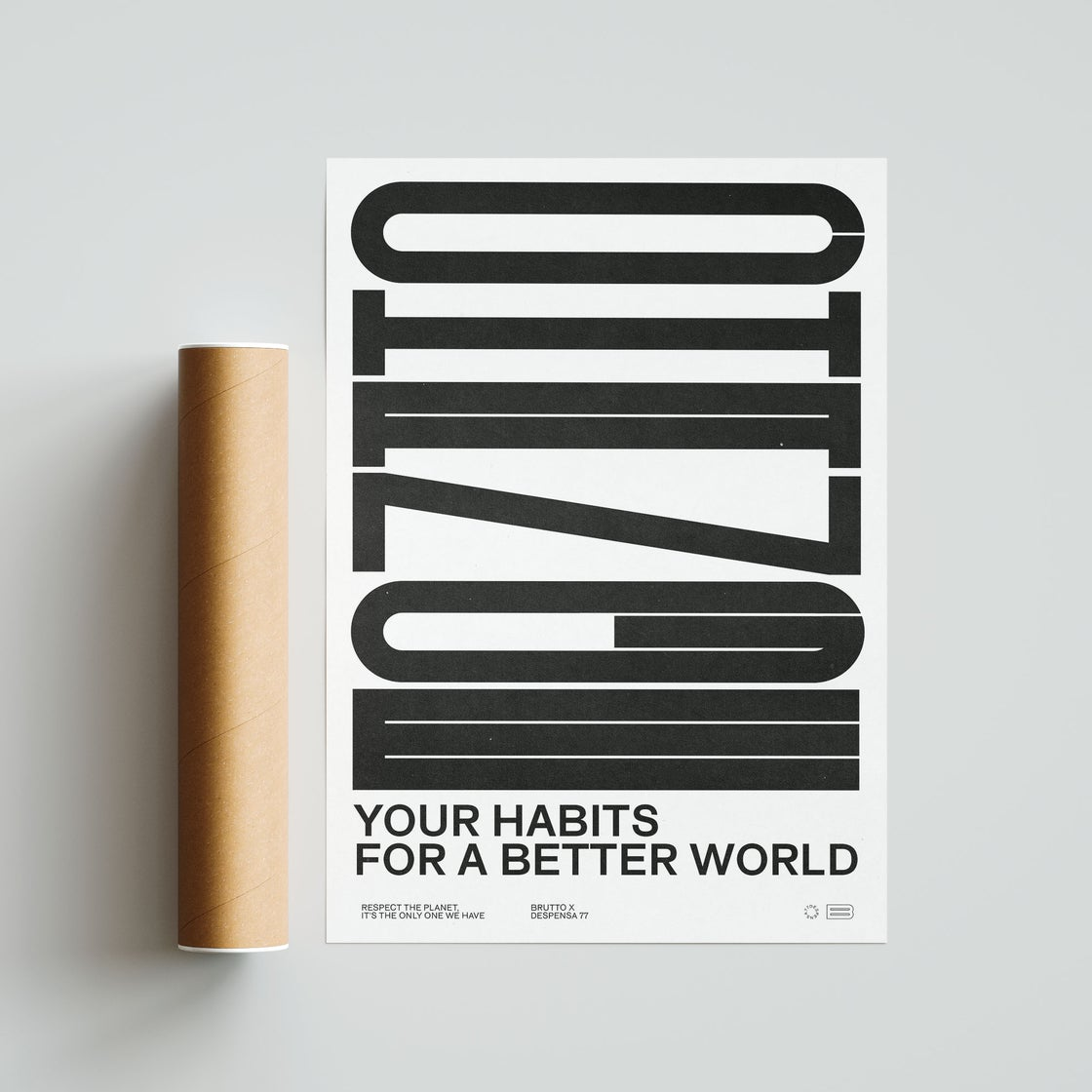 Image of CHANGE YOUR HABITS 50x70cm Poster