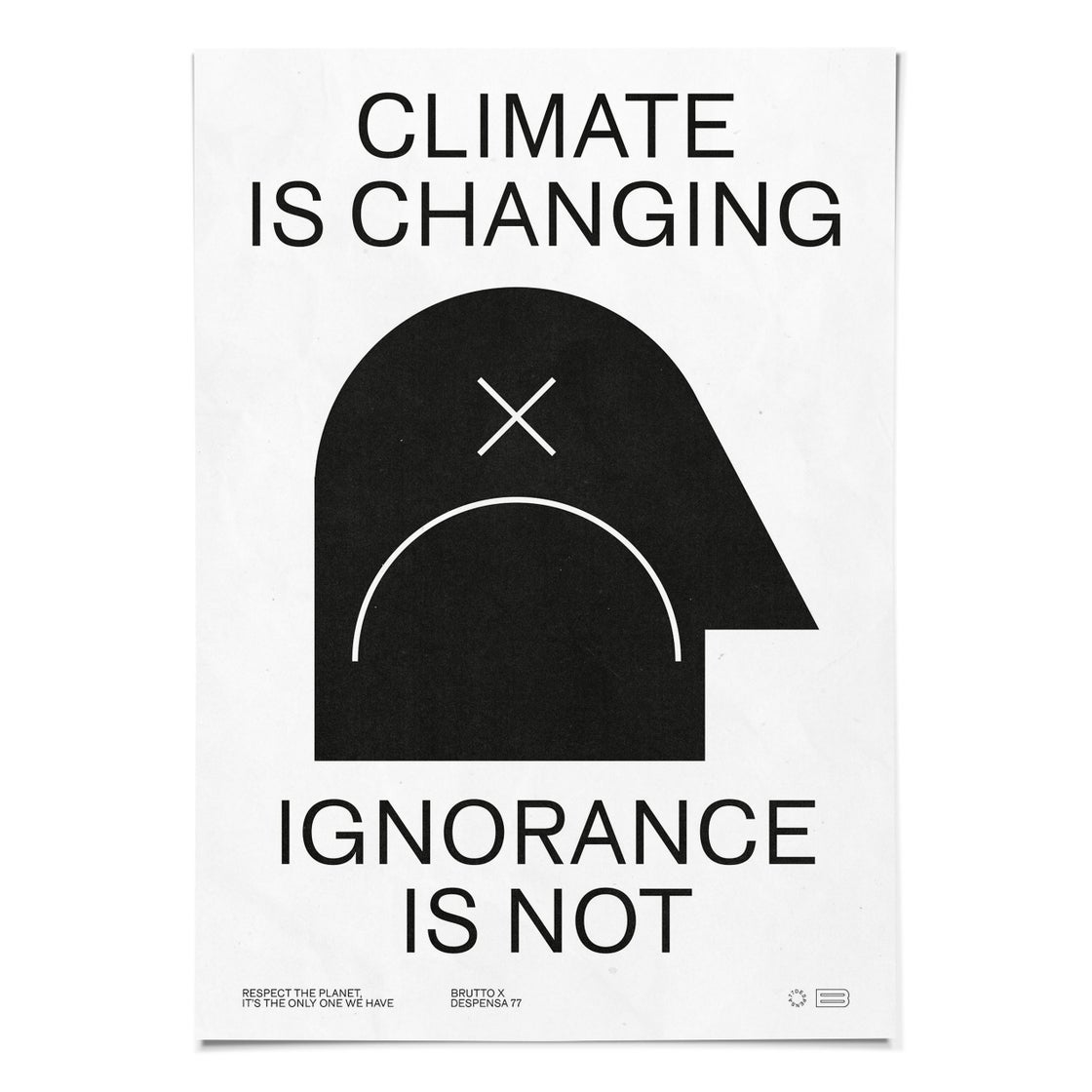Image of CLIMATE IS CHANGING 50x70cm Poster