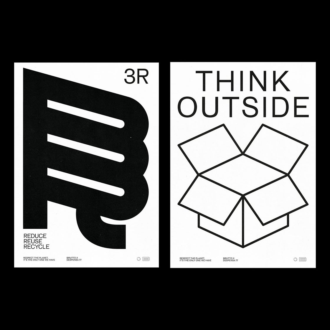 Image of THINK OUTSIDE 50x70cm Poster