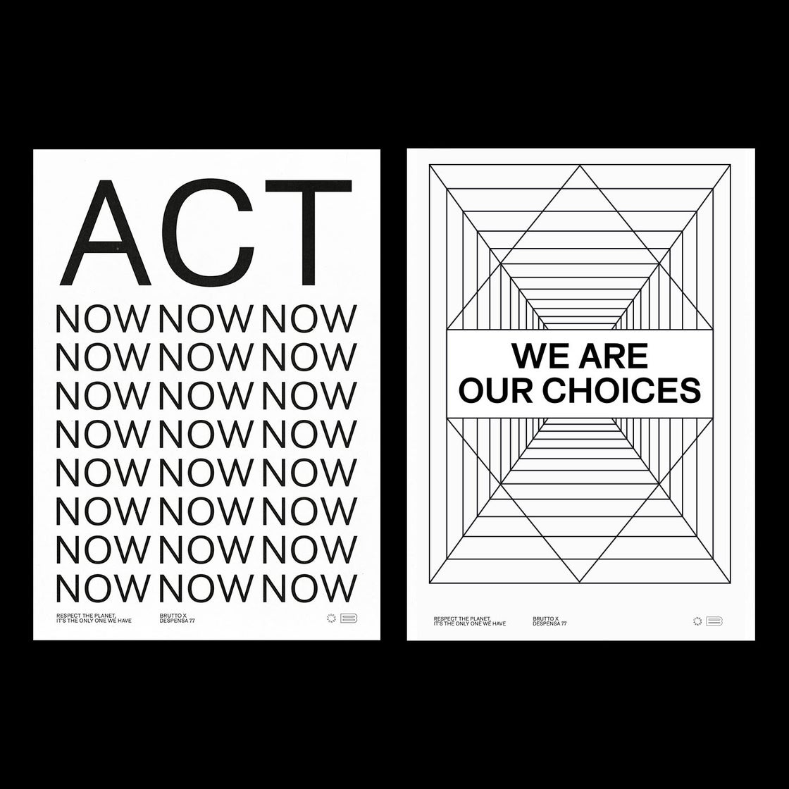 Image of WE ARE OUR CHOICES 50x70cm Poster