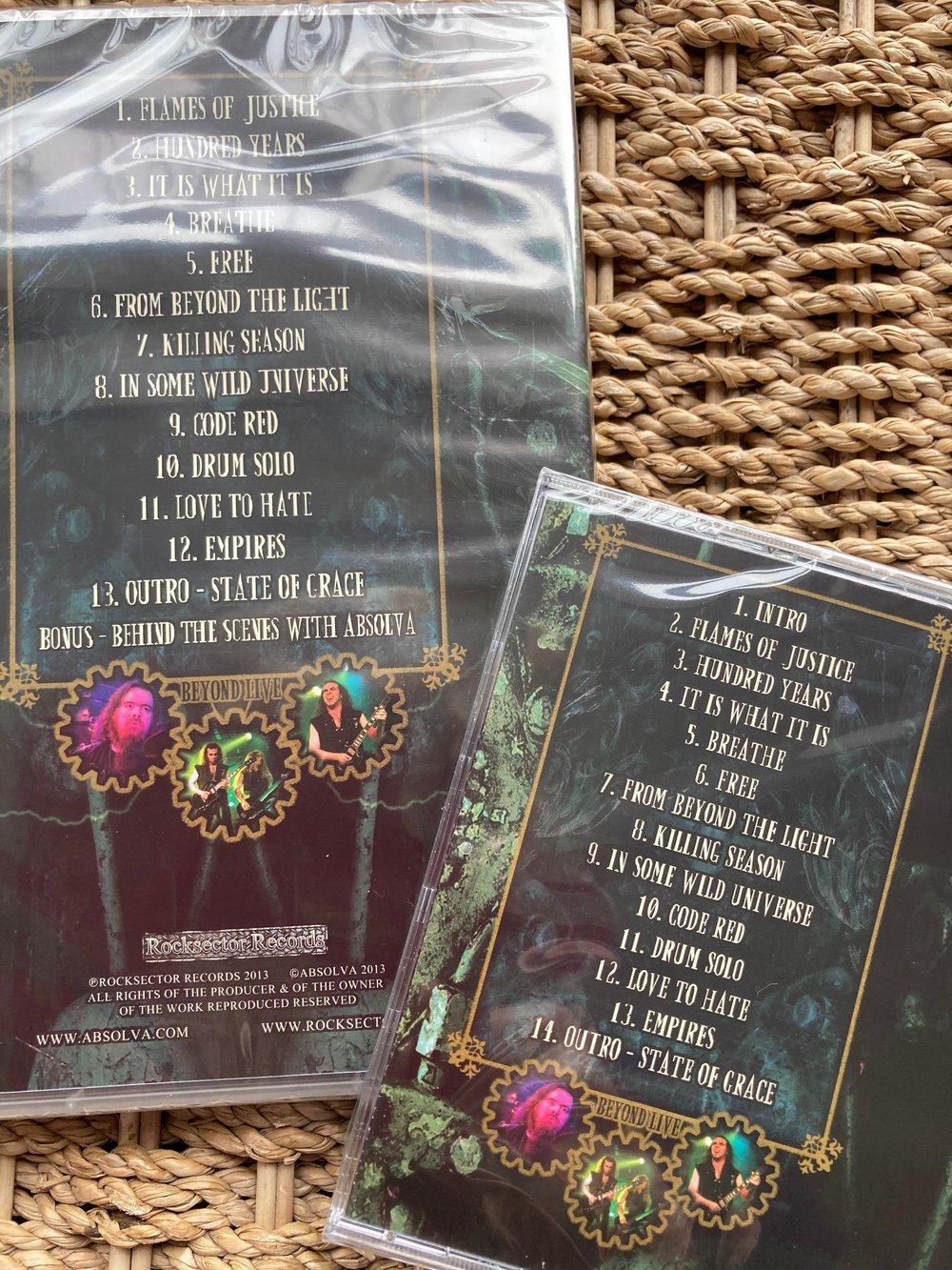 "Absolva ""Beyond Live"" CD & DVD Bundle"
