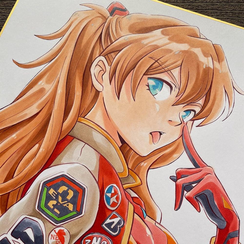 Racer Asuka Langley