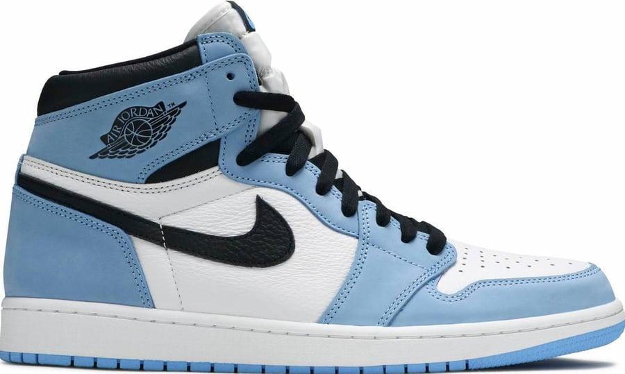 "Image of Nike Retro Air Jordan 1 ""University Blue"" Mens"