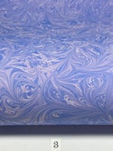 Marbled Paper Shades of Lavender 1/2 sheets