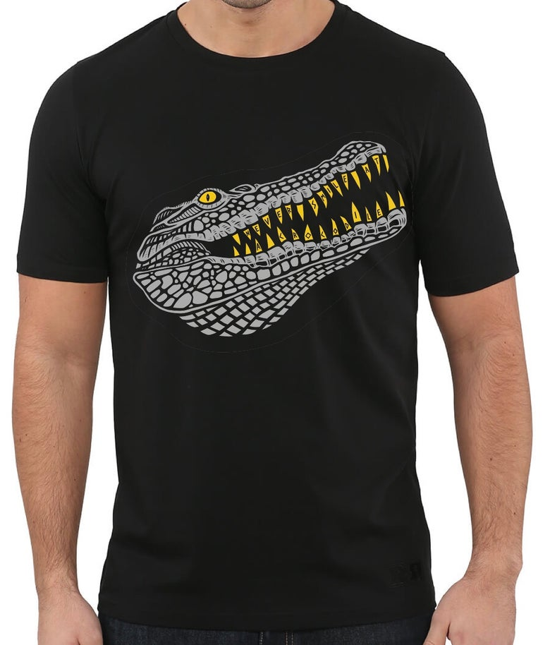 Image of Never smile at a crocodile t-shirt