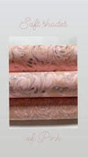 Marbled Paper Shades of Pink 1/2 sheets