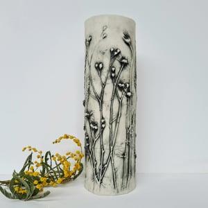 Medium Vases Grasses Green Grey