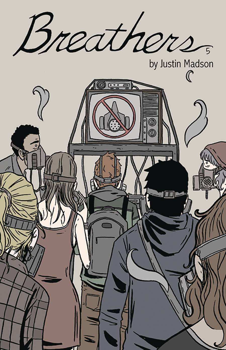 Image of BREATHERS #5 (COVER B)
