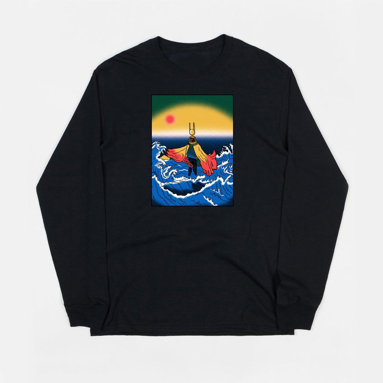 Image of Sun Ra (black long sleeve t-shirt)