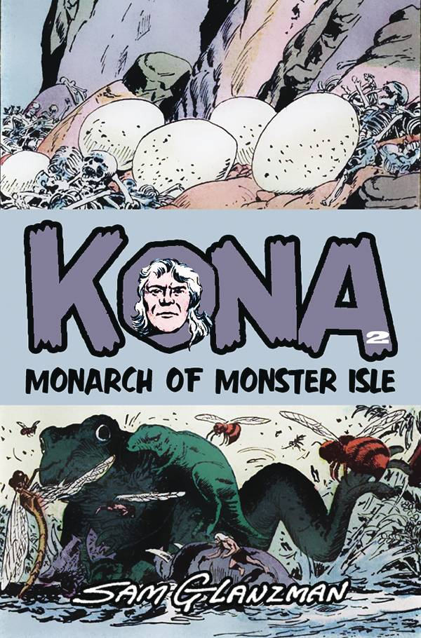 Image of KONA: MONARCH OF MONSTER ISLE #2 (COVER A)