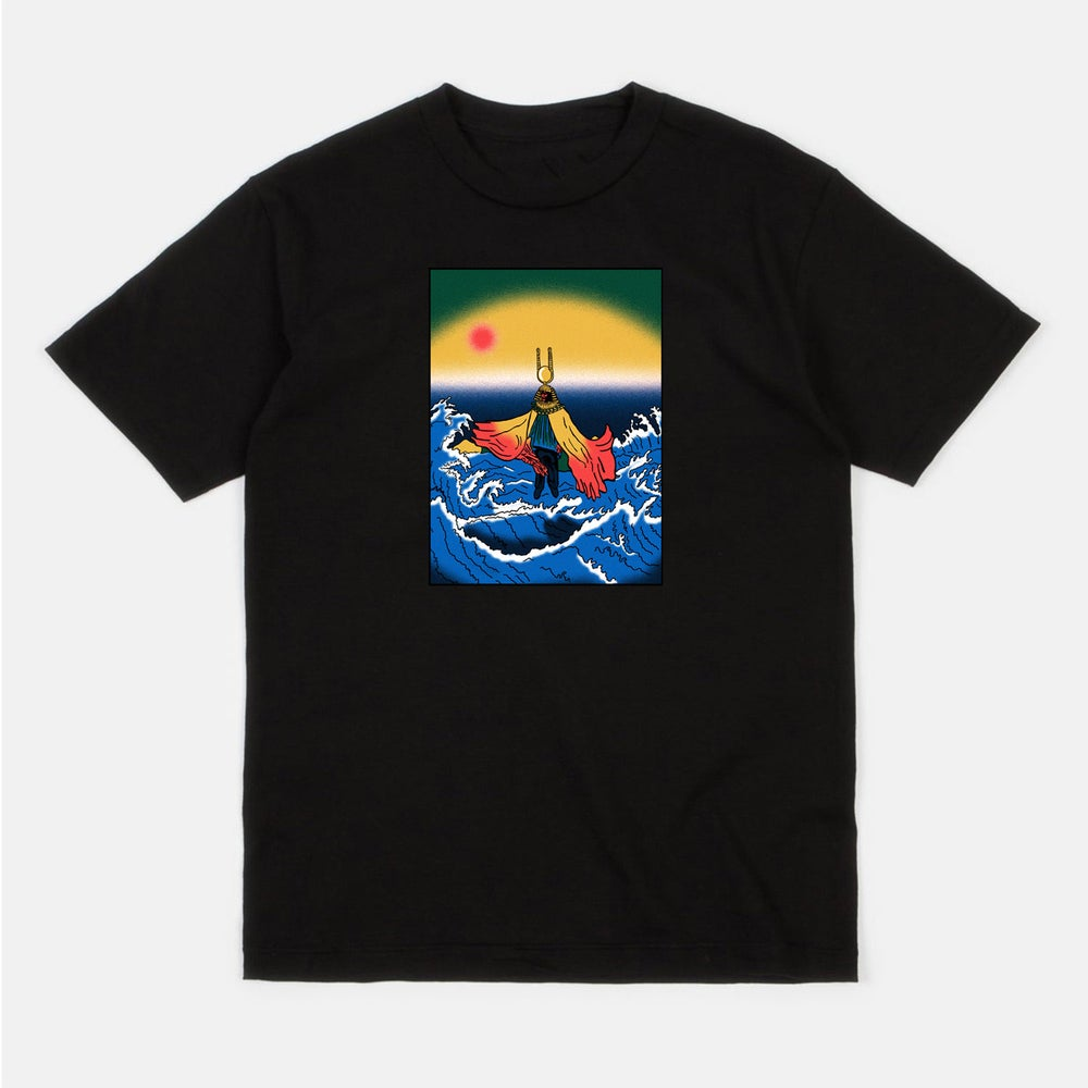 Image of Sun Ra (black short sleeve t-shirt)