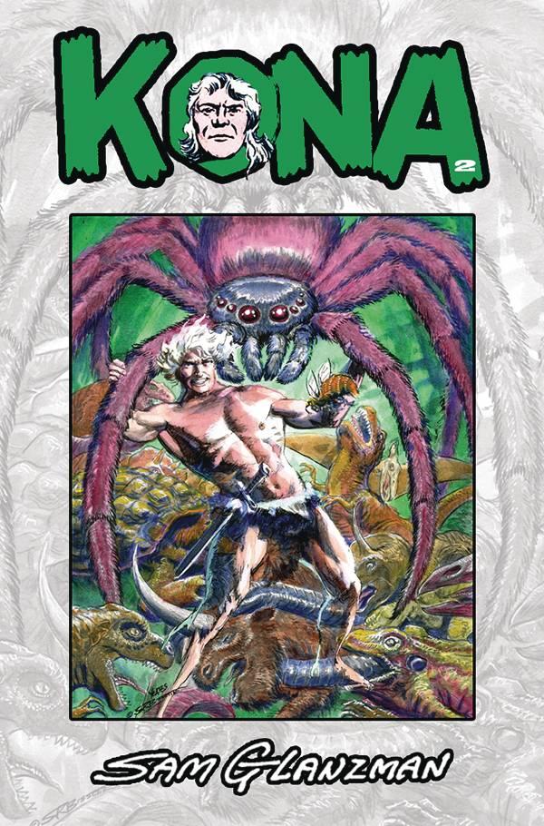 Image of KONA: MONARCH OF MONSTER ISLE #2 (COVER B)