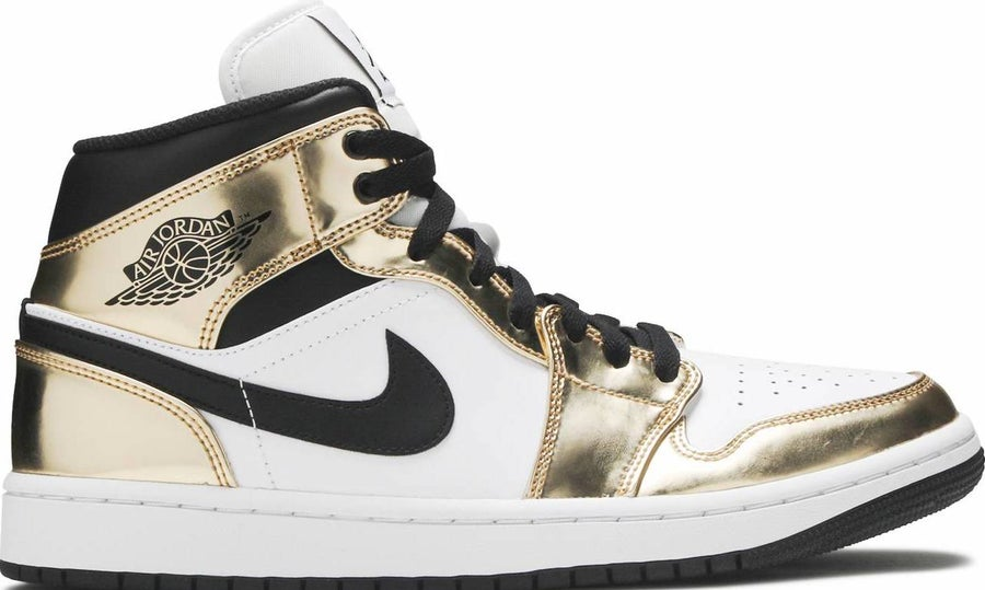 "Image of Nike Retro Air Jordan Mid ""Metallic Gold"" Sz 9.5"