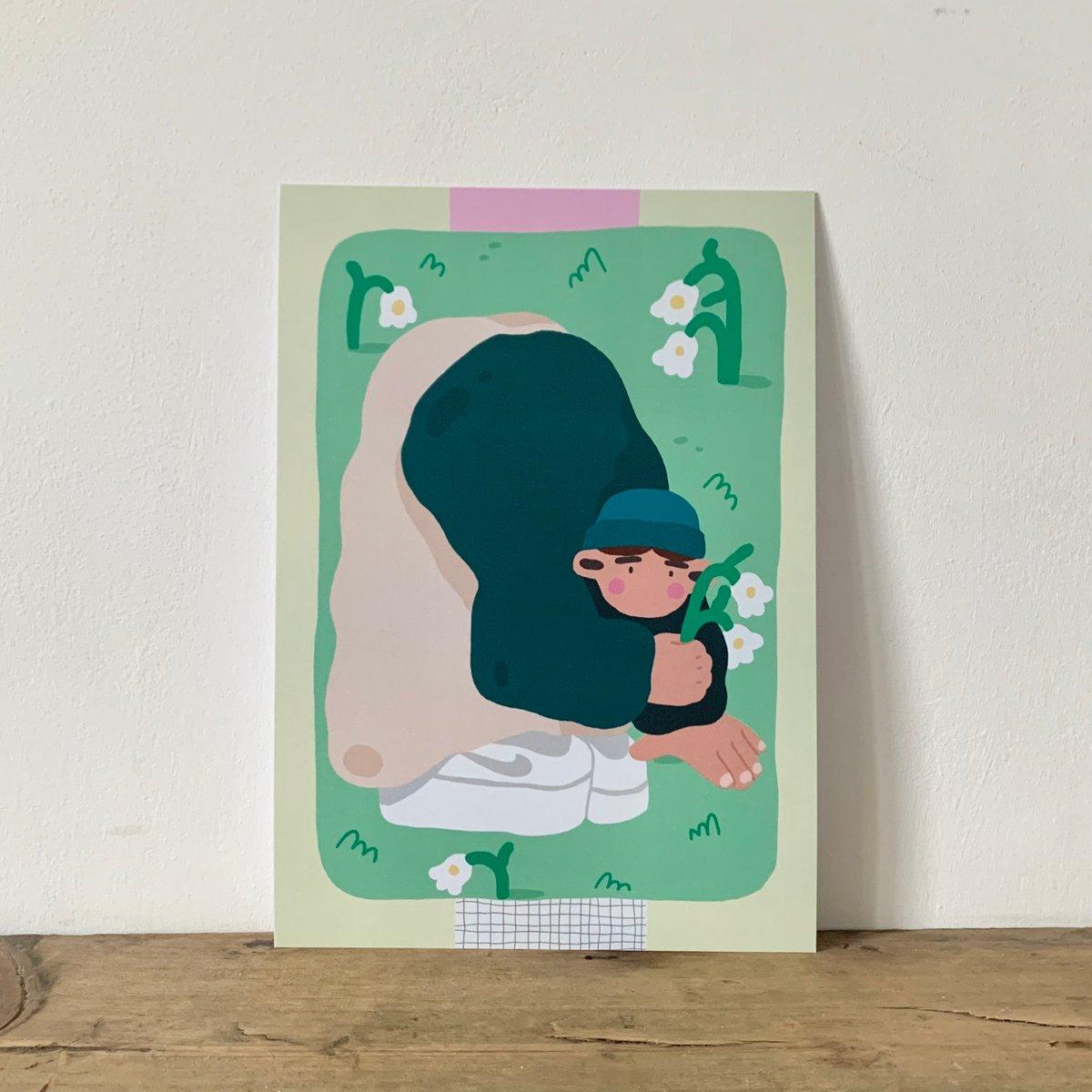 'Fresh air' - A5 print
