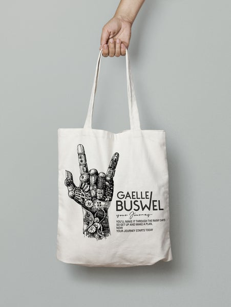 "Image of Tote Bag - ""Your Journey"""