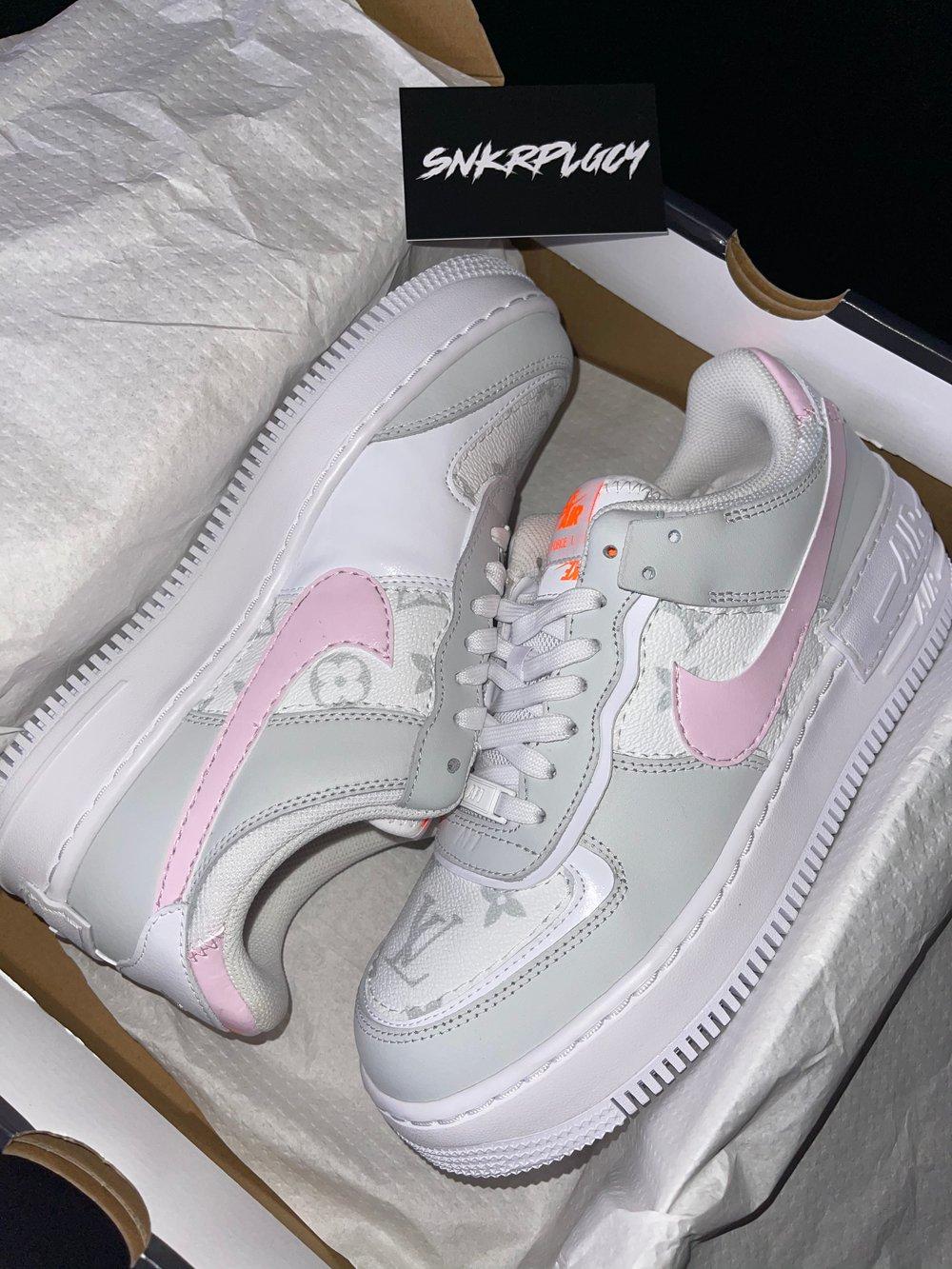 Nike Air Force 1 Shadow x LV (Custom)
