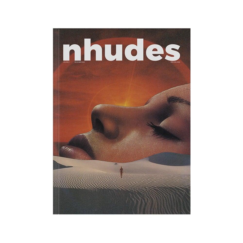 Image of Nhude Magazine # 5 Cover 1 (last 1 in stock)