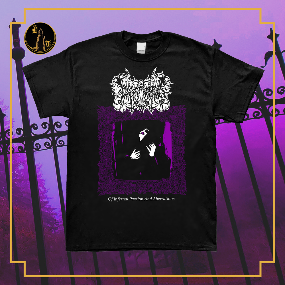 Image of Lamp of Murmuur- Of Infernal Passion and Aberrations short sleeve