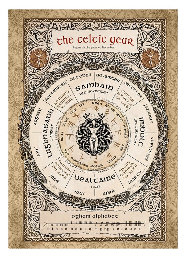 Image of Celtic Year print