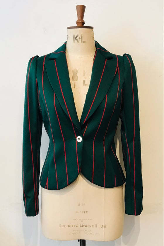 Image of Blazer stripe show jacket