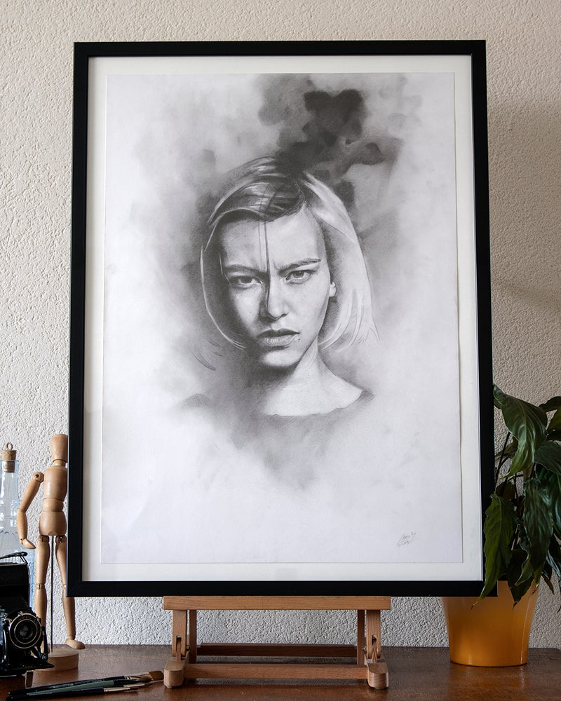 Image of Portrait of Woman