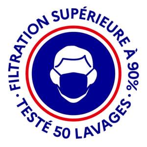 Image of Tissus FRANCAIS pour masques catégorie 1 filtration garantie supérieure à 90% 50 lavages