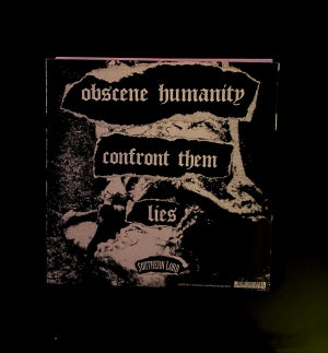 """Image of NAILS """"OBSCENE HUMANITY"""" 7"""" EP"""