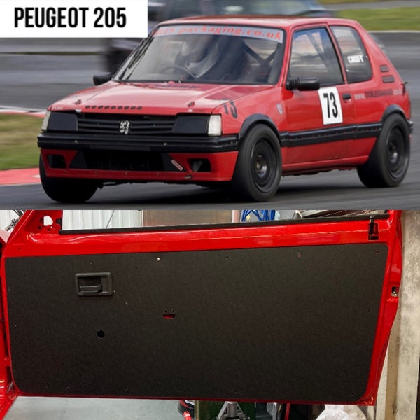 Image of Peugeot 205 - Track Car Door Cards