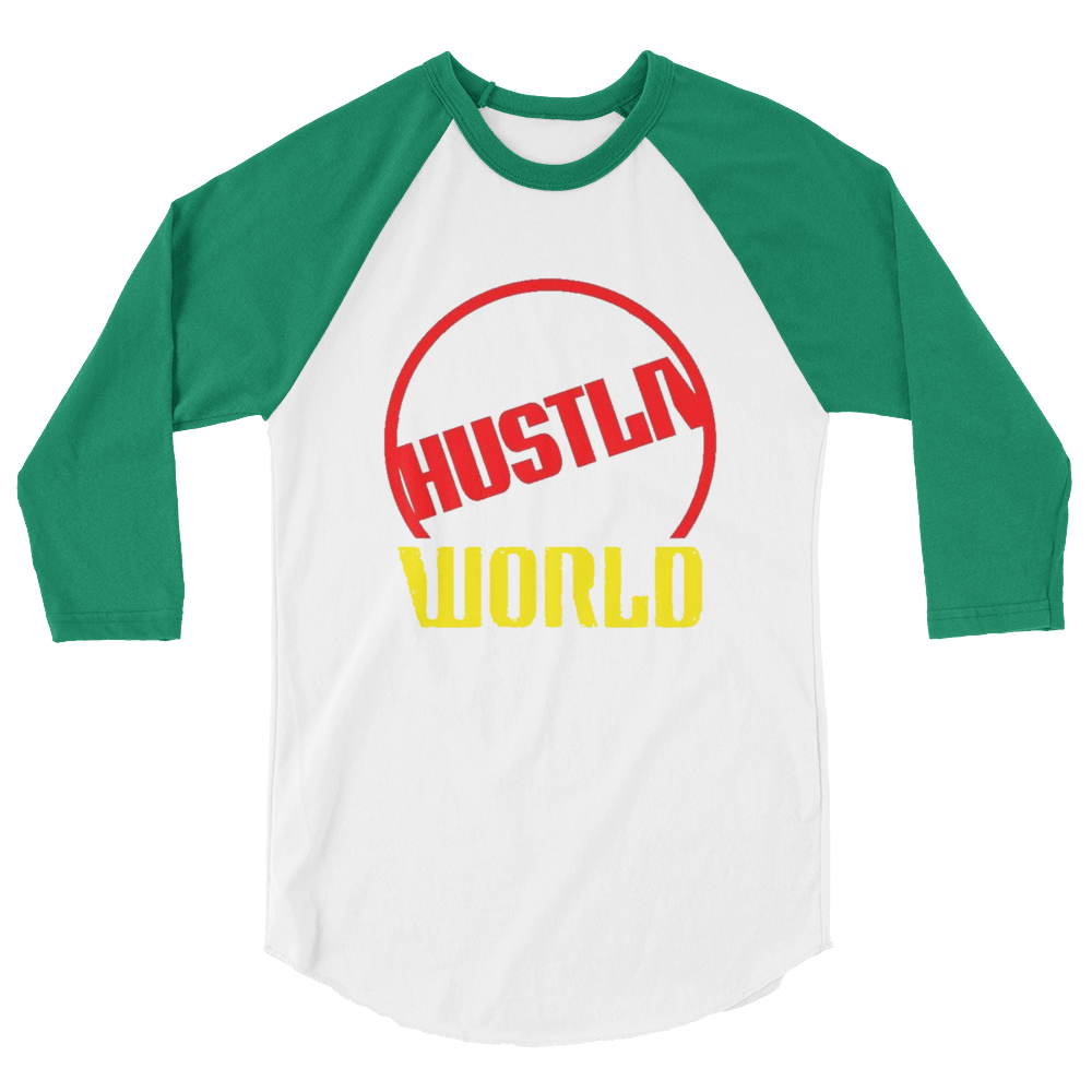 Image of Hustla world raglin