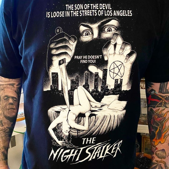 "Image of Professor Tooth's - Richard Ramirez ""The Night Stalker"" Tee Shirt"