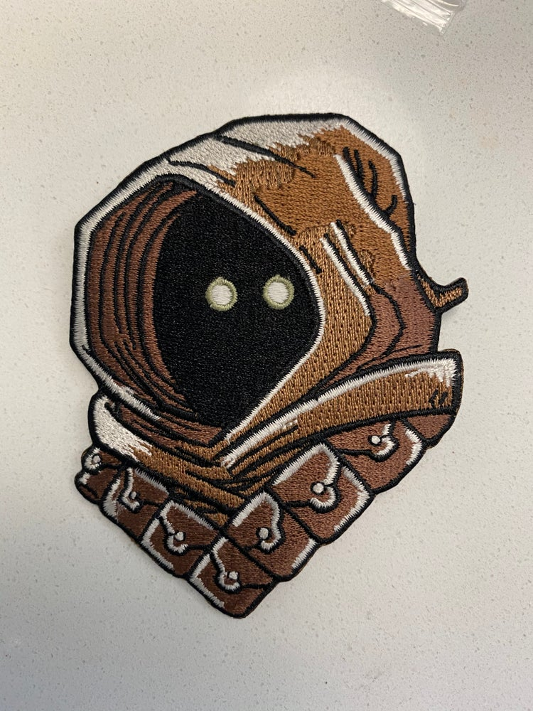 "Image of Jawa 4"" Patch Glow in the Dark"