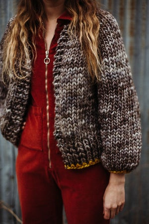 Image of Knitting Pattern - Mimico Cardigan