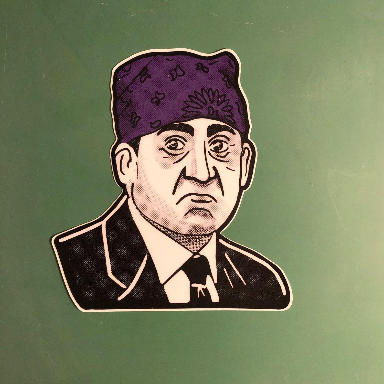 """Prison Mike 4"""" Sticker"""