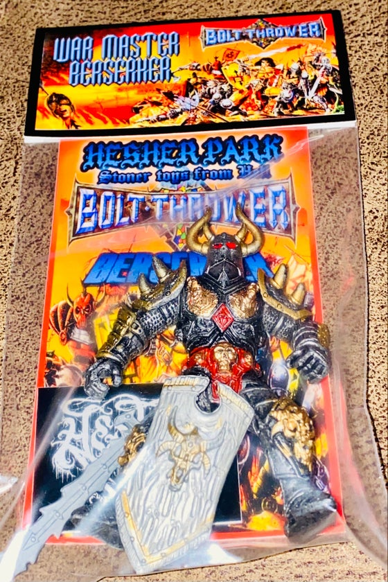 Image of  BOLT THROWER WAR MASTER BERSERKER  2ND WAVE