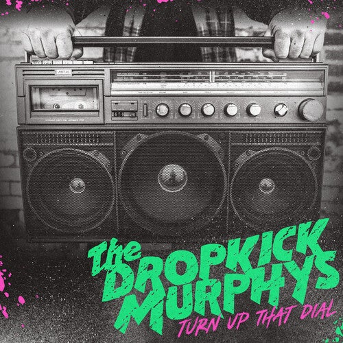 Image of *PRE-ORDER* Dropkick Murphys - Turn Up That Dial LP (Cokebottle Green)