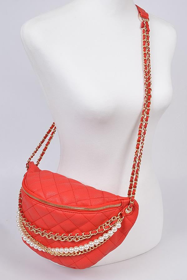 Image of Crossbody bag (Red)