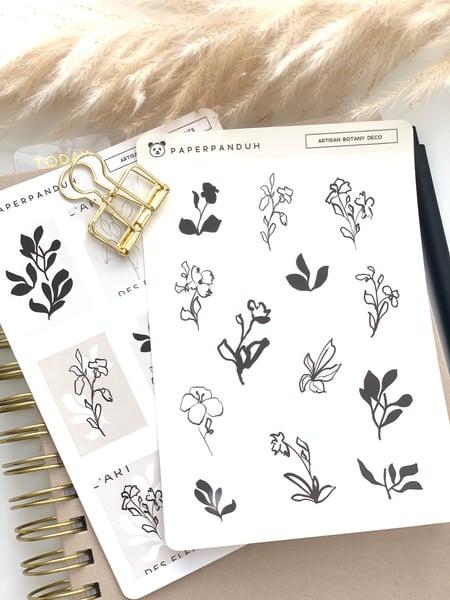 Image of Artisan Botany Sticker Sheet