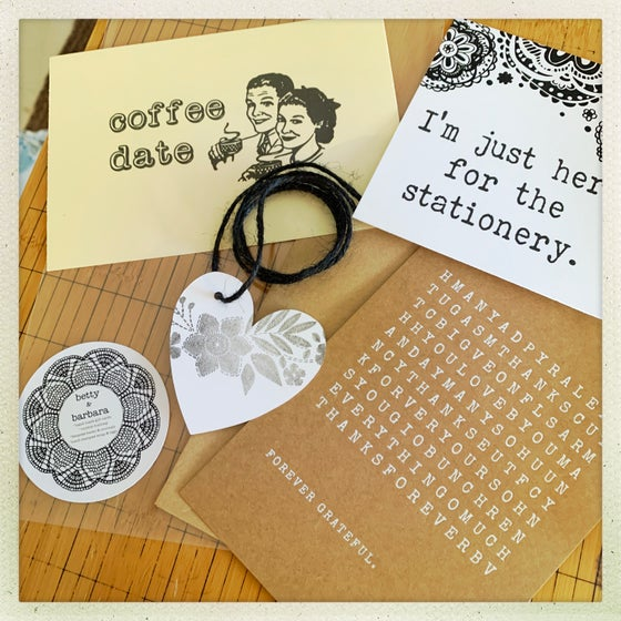 Image of mini stationery grab bag