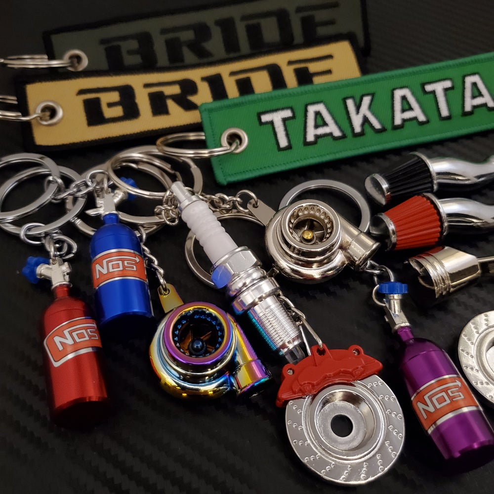 Image of Clear-out Keychains