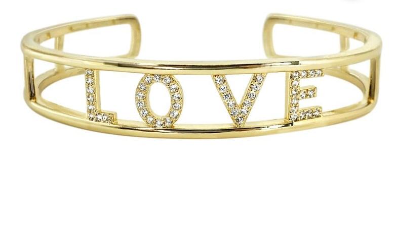 Image of Diamond Love Cuff