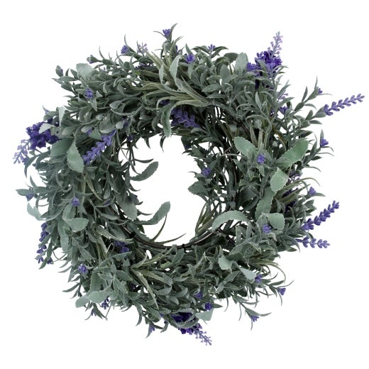Image of Gisela Graham  Lavender Wreath - Small