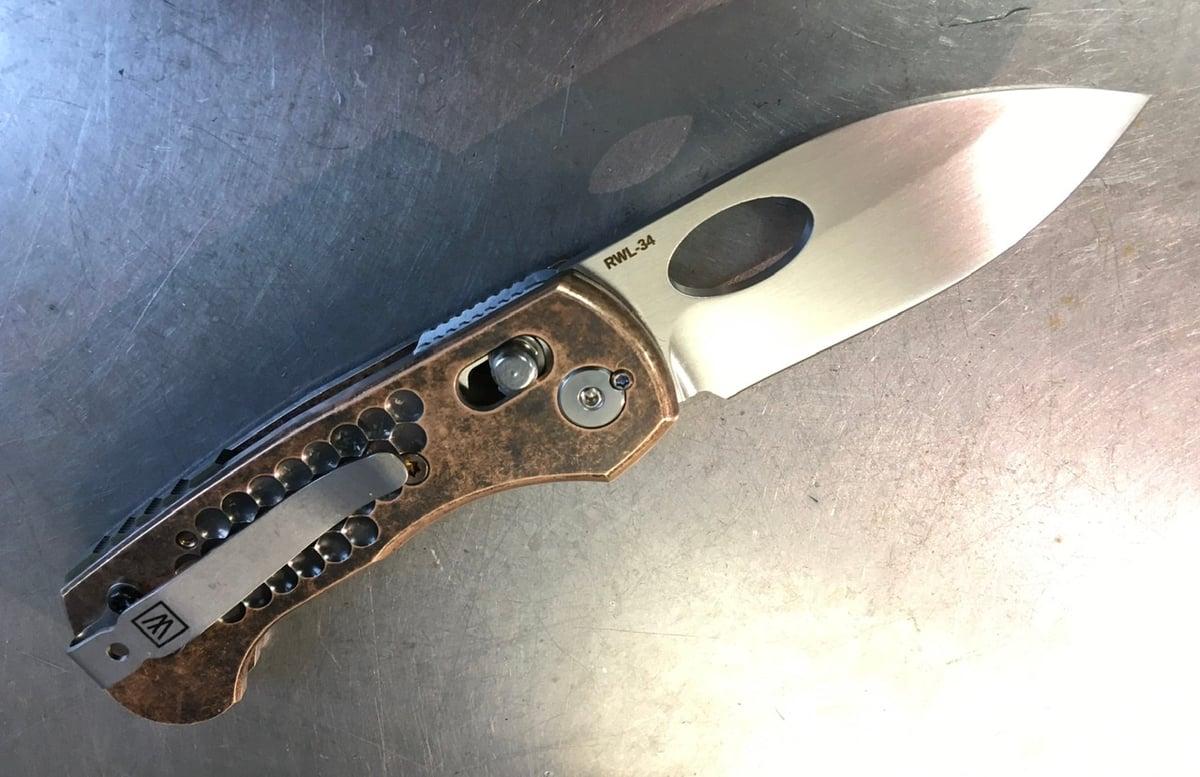 Leafstorm 9 Bronze Grips