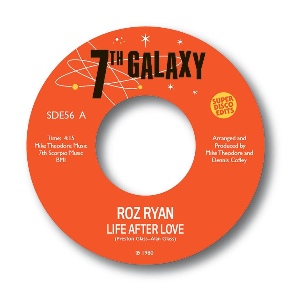 "Roz Ryan 'Life after love""/""Sky high"" 7th Galaxy 45rpm PRE ORDER"