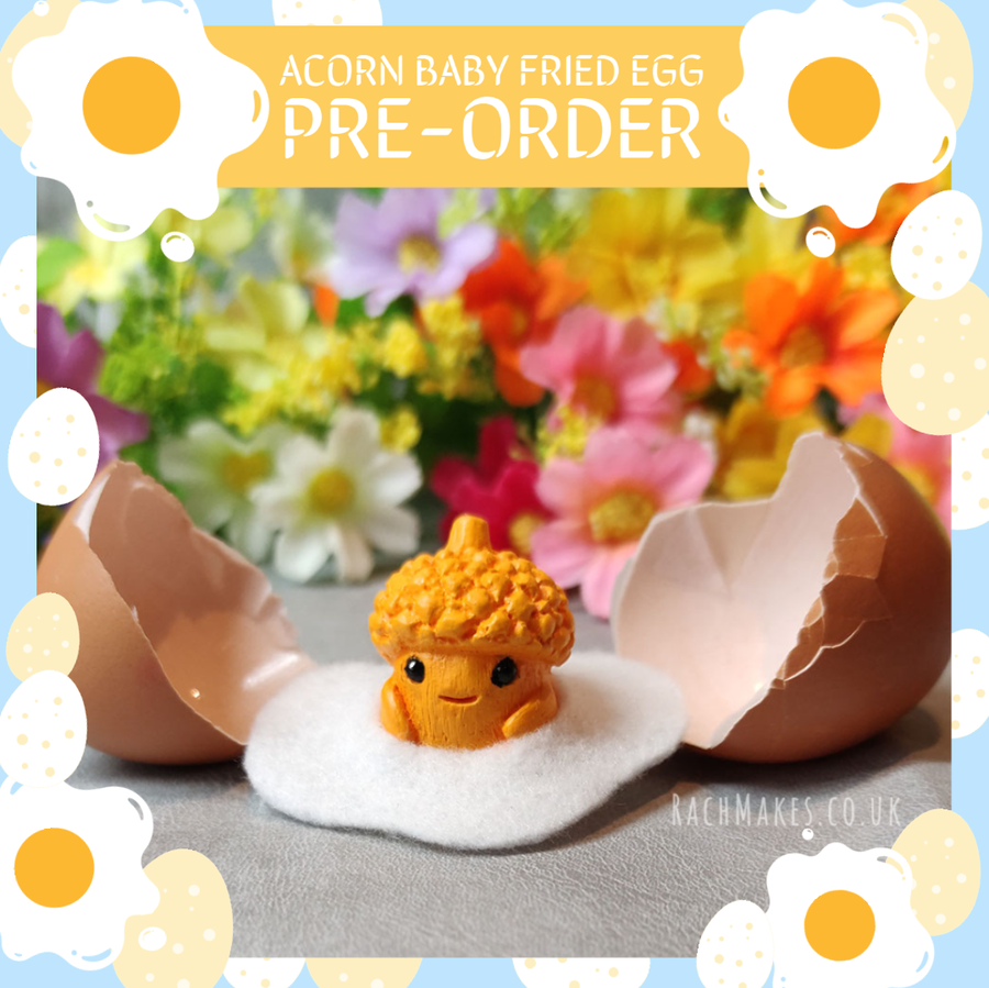 Image of PRE-ORDER Acorn Baby Fried Egg