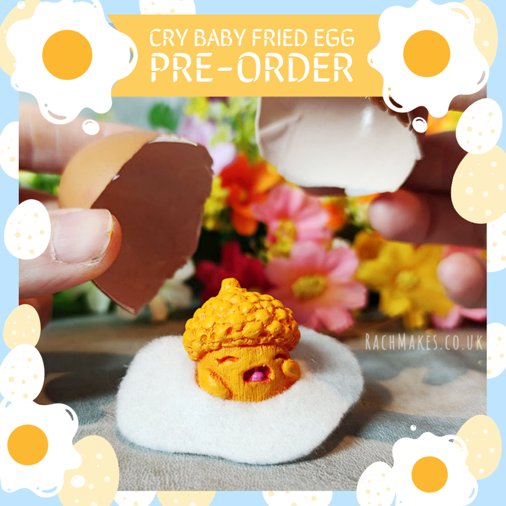Image of PRE-ORDER Cry Baby Fried Egg