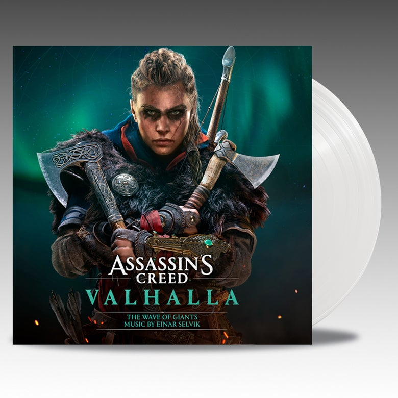 Image of Assassin's Creed Valhalla: The Wave Of Giants  - 'Opaque White Vinyl' - Einar Selvik