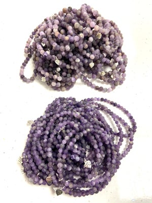 Image of Frosted Natural Amethyst Well Being Stones - Prices From £4