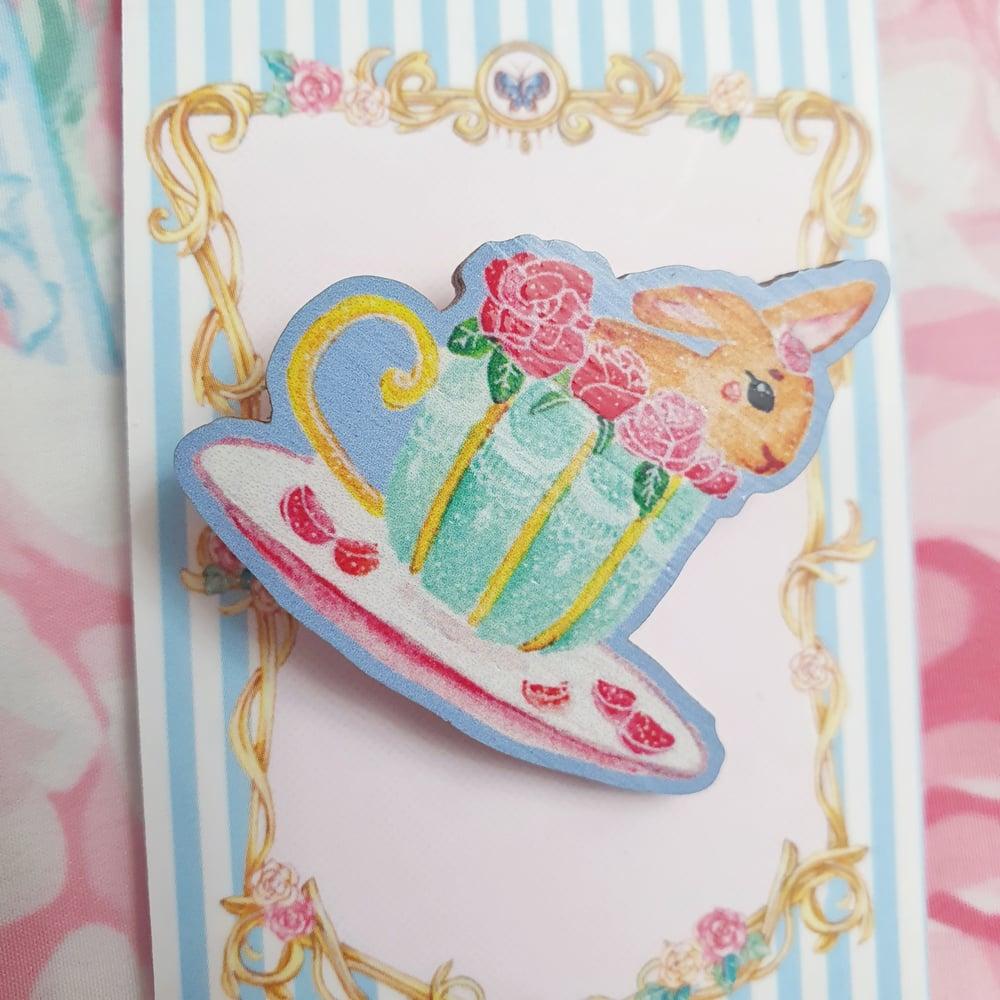 Image of Tiny Teacup Treats - Bonbon the Bunny
